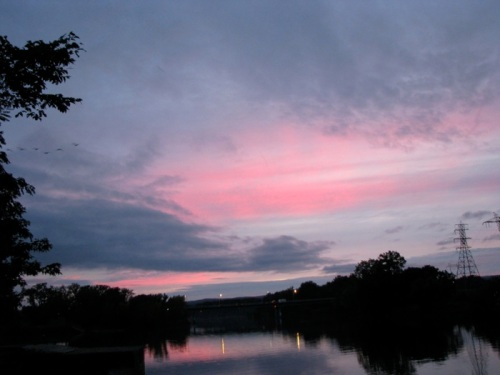 - Mohawk sunset, from Washington Ave., Sept. 27, 2008 -