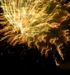 Fireworks –  Jumpin' Jack's 2009 – goldenburst