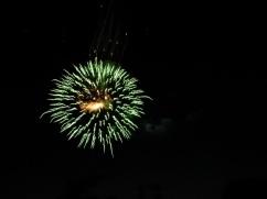 Fireworks - Jumpin' Jack's 2009 - green burst