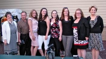FCSS staff at Golf Ball Drop 2009