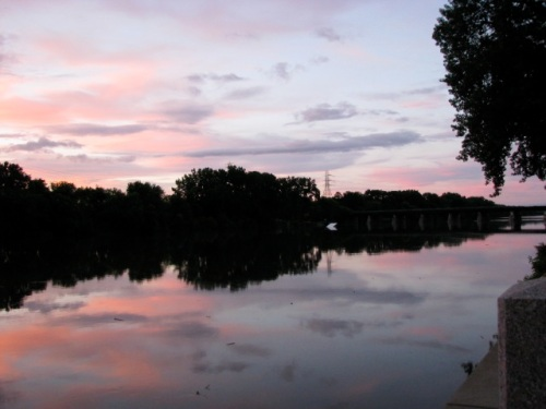 Solstice Sunset - Scotia NE view
