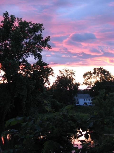 Solstice Sunset - Scotia Vertical