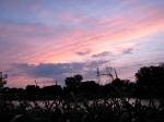 Sunset – off Cucumber Alley –07Jun09