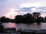 Sunset – DeadEnd on Wash. Ave. –07Jun09