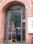 Van Dyck front Door reflecting FCSS – 21June09, 9AM