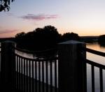 esplanade sunset at Riverside Park –05July09