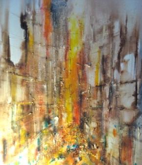 urban sunscape by V. Carneiro