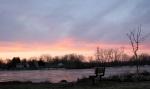 sunset 11March09 – looking towardScotia