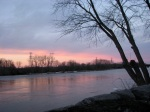 early sunset – 11March09 -eastern view from RiversidePark