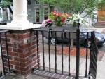 porch rail flower planter at 16 Washington  Ave, Stockade –09June09