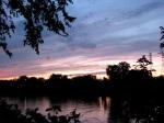 pastel sunset from Washington Ave., Schenectady –11Aug09