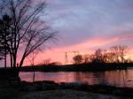 pastel sunset at Riverside Park –11Mar09