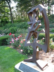 Schenectady Rose Garden 2009 - Yuan Sculpture by Robert Blood