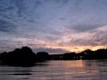 saturday sunset from Riverside Park toward Scotia –08Aug09