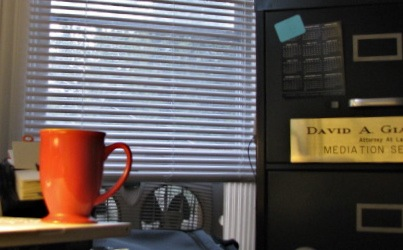 photo showing the proximity of my desk to the window in question