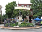 Lawrence Circle, 58th Villager's Outdoor Art Show – Noon12Sep09
