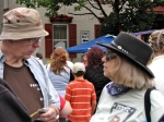 Gregg Millett & Ann Parillo at the Stockade Outdoor Art Show –12Sep09
