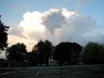 swingset sunset eastview from Riverside Park, Schenectady03Oct09