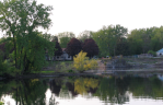 Mohawk River from the end of Washington Ave., Schenectady –10May08