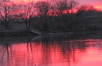 Gateway Landing, Mohawk River, seen from the end of Washington Ave. Schenectady –05Nov.08
