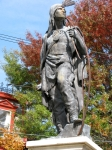 Lawrence the Indian waits for the fall foliage peak –16Oct09