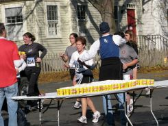 water stop at YWCA, Washington Ave. at Union St. - Stockade-athon 2009