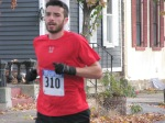 #310 enters the Lawrence Circle at the halfway point of the race in the Schenectady Stockade  - Stockade-athon 2011 - 13Nov2011