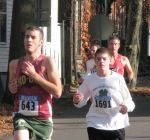 some of the interesting faces seen running in Stockade-athon 2011 - Schenectady NY Stockade - 13Nov2011