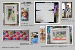 collage showing art and artists winners of various annual awards - 61st Stockade Villagers' Outdoor Art Show - 08Sep2012