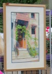 Best Stockade Depiction - watercolor by Linda Kollar of 15 N. Ferry St.