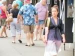 Susannah strolls