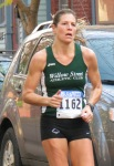 runner 1162 on Front st. - Stockade-athon 2012 - Schenectady NY Stockade - 11Nov. 2012
