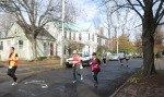 view north on Washington Ave. near Union St. - Schenectady NY Stockade - Stockade-athon 2012 - 11Nov2012