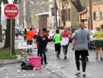 water station at Union St. and Washington Ave. Schenectady NY Stockade - Stockade-athon 2012 - 11Nov2012