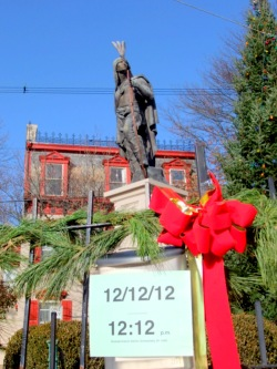 Lawrence the Indian - Schenectady NY Stockade - 12-12-12 -12:12 PM