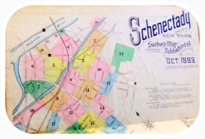 cover of 1889 Sanborn Insurance Map of Schenectady