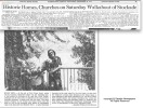 Schenectady Gazette article about the 1974 Stockade Walkabout