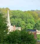 Zion Lutheran Church seen form the roof of Colonial Arms – SchenectadyNYPG