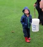Nicholas wants to take some balls home  FCSS 2013 Golf Ball Drop –13Sep2013