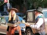 Sylvie Briber and Bob Lemmerman performed John Philip Sousa songs – 2013 Stockade Walkabout – Schenectady NY –28Sep2013