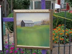 Deborah Angilletta's rural scene won 3rd Place