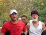 master runner Tim Haley [R, BIB 36] with Brian White[BIB-1889]