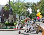Pokingbrook Morris Dancers at Lawrence Circle