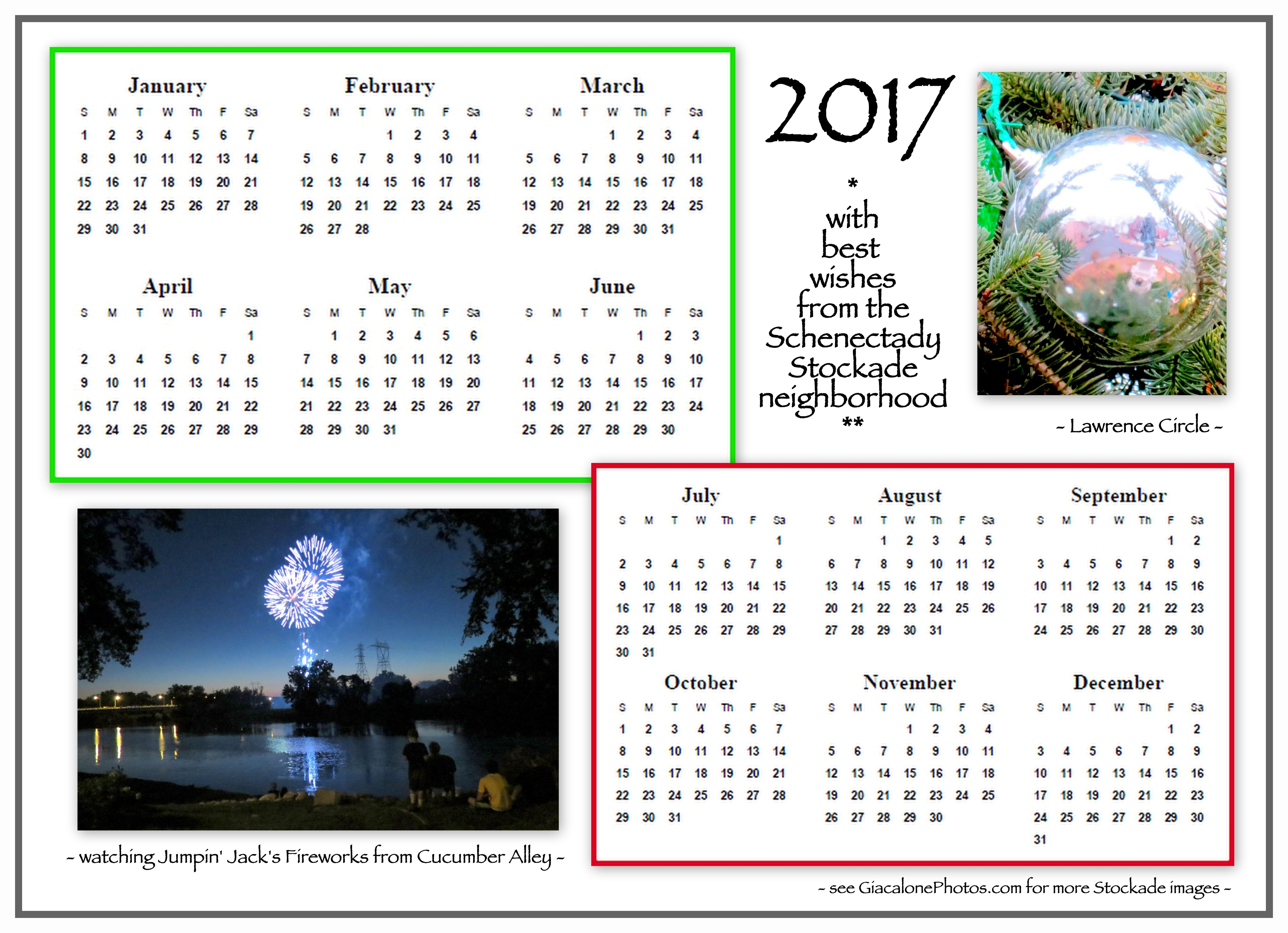 X Files Calendar : One page stockade calendars with our thanks suns