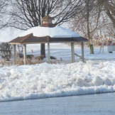 gazebo at Gateway Landing
