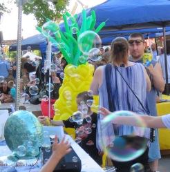 a very popular bubble machine