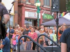 Jay Street stage audience