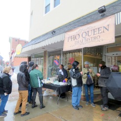 Pho Queen had a crowd